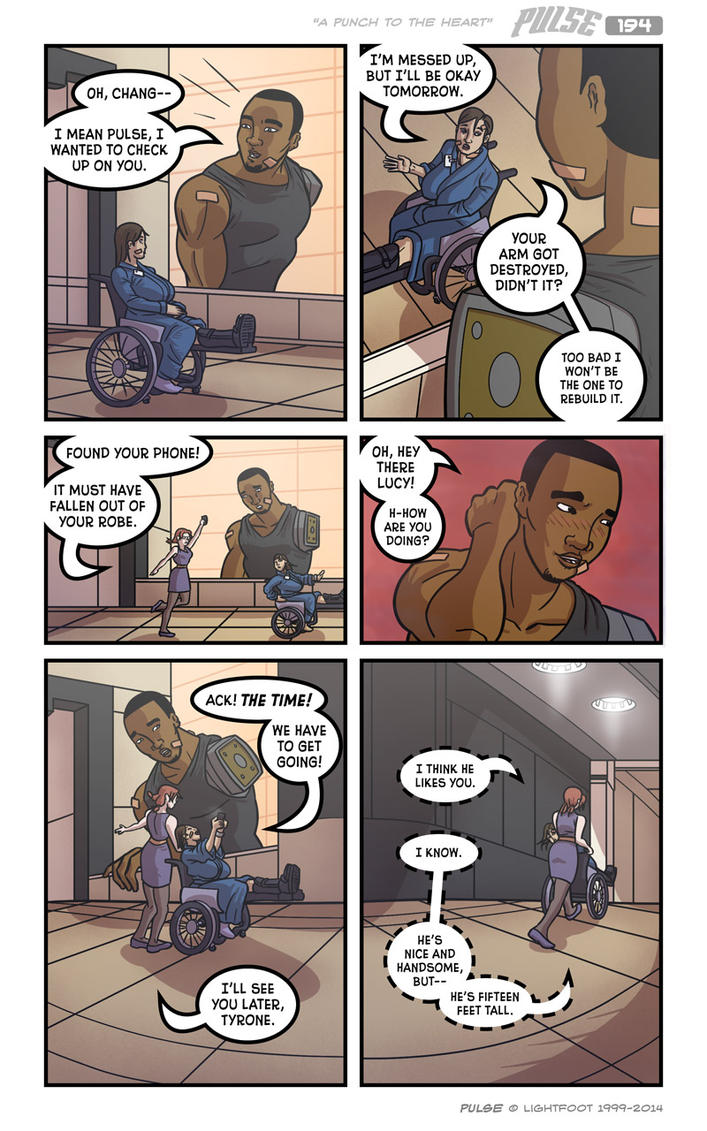 Pulse 194 by lightfootcomics