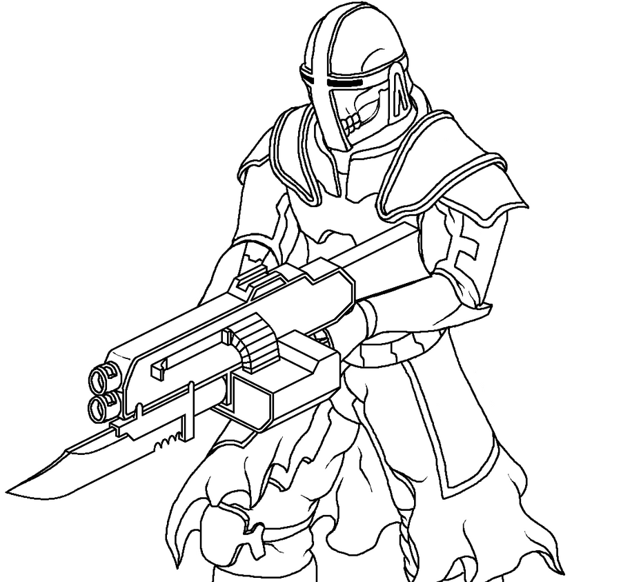 shock troopers coloring pages - photo#5