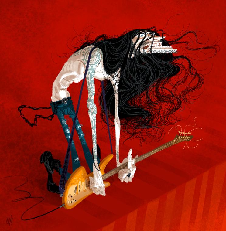 Metal Guitarist by T-U-L-P