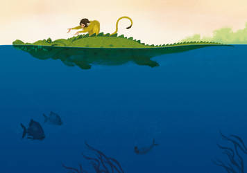 Crocodile by T-U-L-P