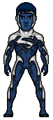 Blue Superman by Ms4747