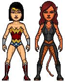 Wonder Woman VS Cheetah by Ms4747