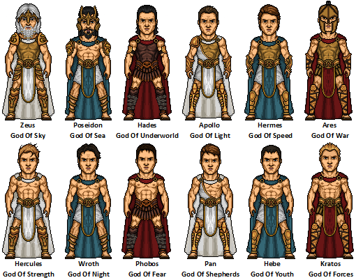 roman gods list The roman gods are the more disciplined, militaristic and warlike version of their greek counterparts though for primordials the change is non-existent as they are the embodiments of their domains.