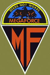 Megaforce Uniform Patch Team by orion24