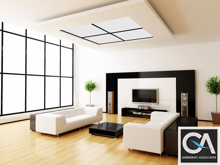 Best interior design service provider croydon red by for Interior designer service provider