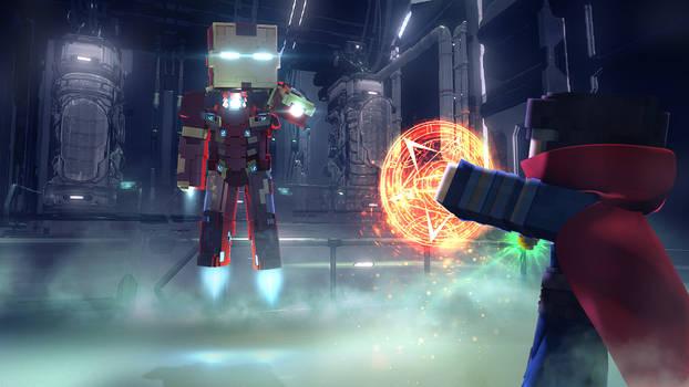 Ironman Vs Dr.Strange