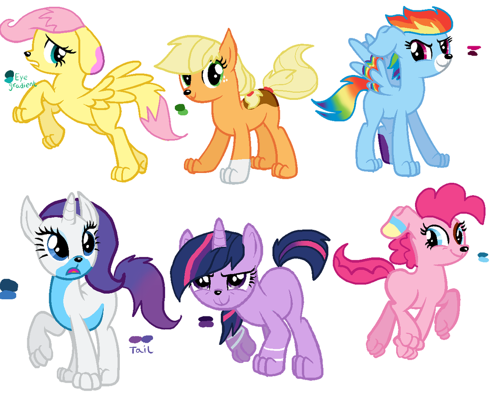 Pony Dog refs by Zoiby on DeviantArt