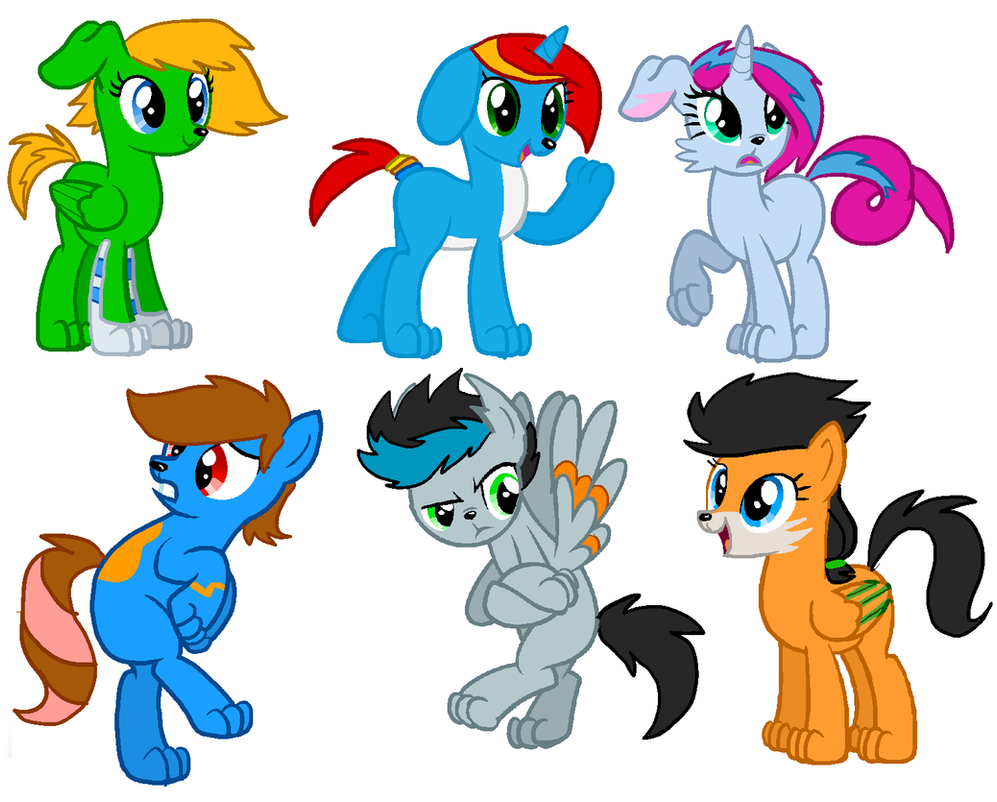 My Little Bella Pony Dogs By Zoiby