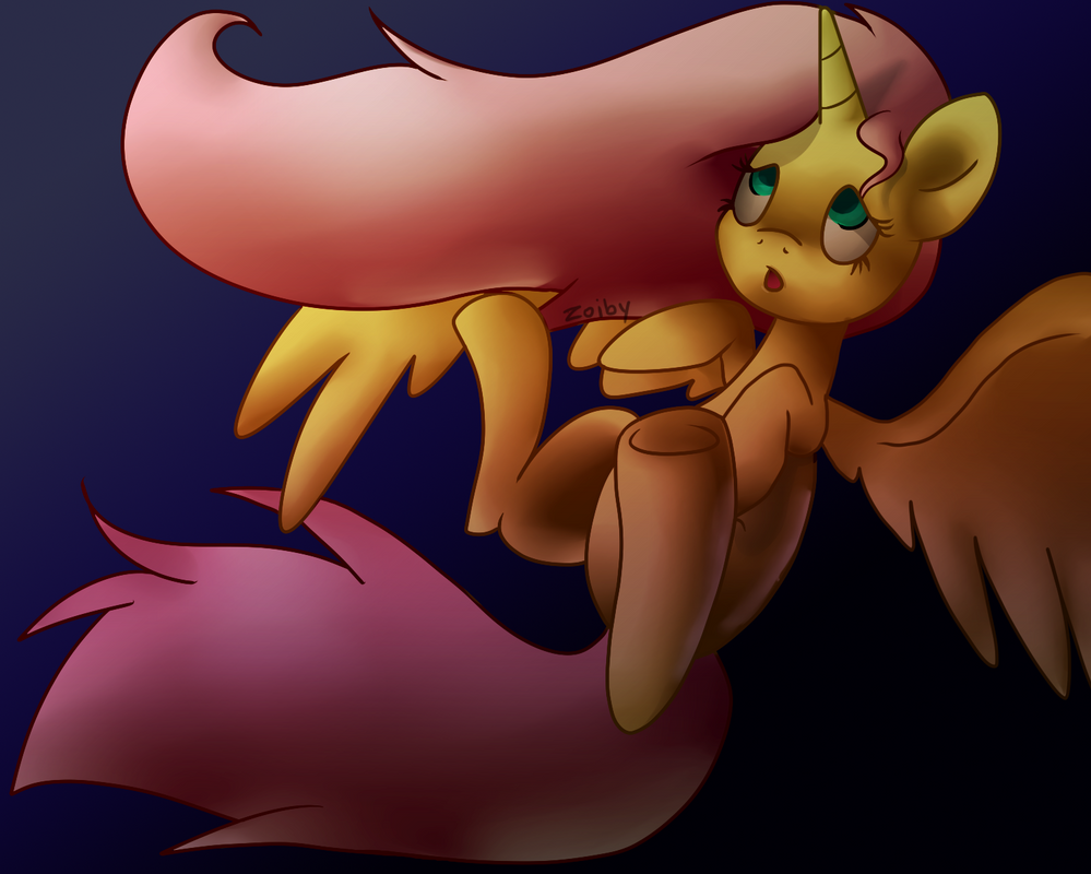 Princess Fluttershy by Zoiby