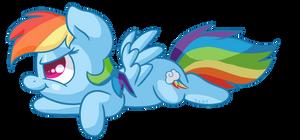 Rainbow Dash Derp