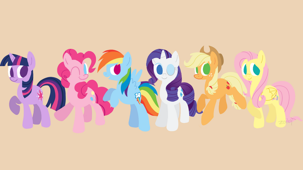 android mane 6 wallpaper - photo #17