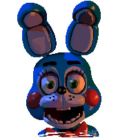 Toy Bonnie Pixel By Zoiby On Deviantart