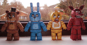 Five Nights at Freddy's Papercraft!