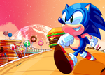 Sonic - Sweet Mountain Zone