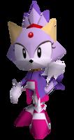 Sonic R - Blaze the Cat