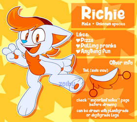 Richie Ref Sheet by Zoiby