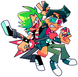 AT: Jade and Floyd