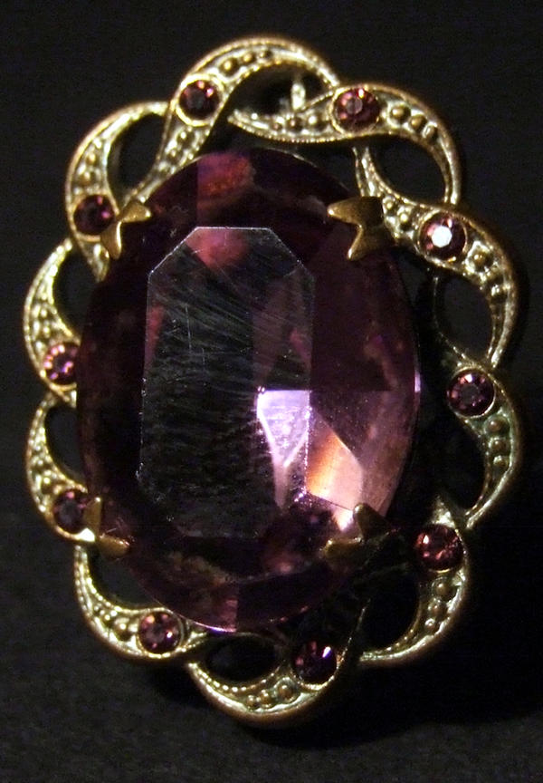 Purple Broach Stock by emothic-stock