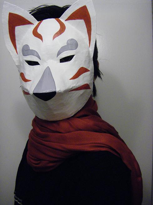 Kitsune Mask by failingsociety