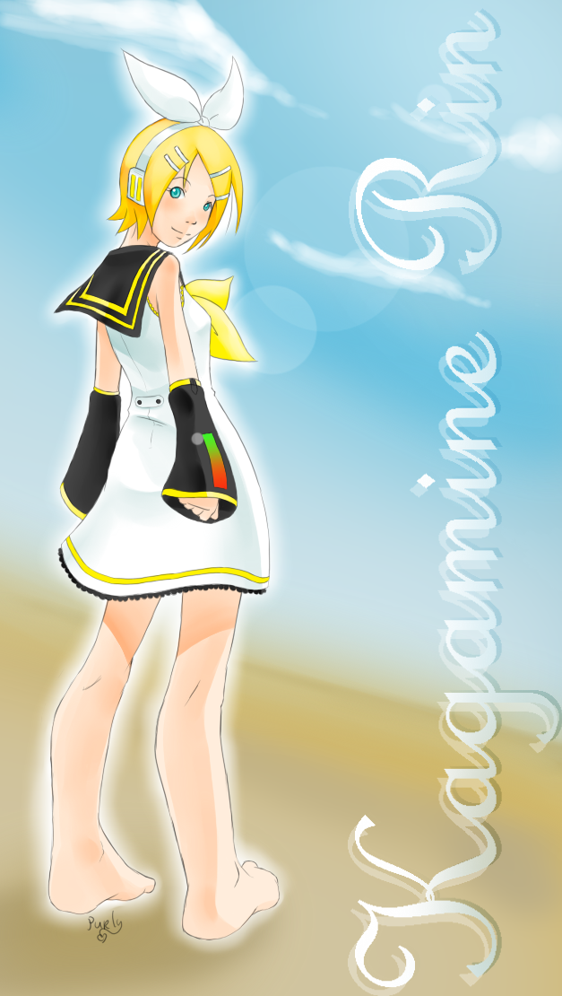 Kagamine Rin - Summerdress by Purly