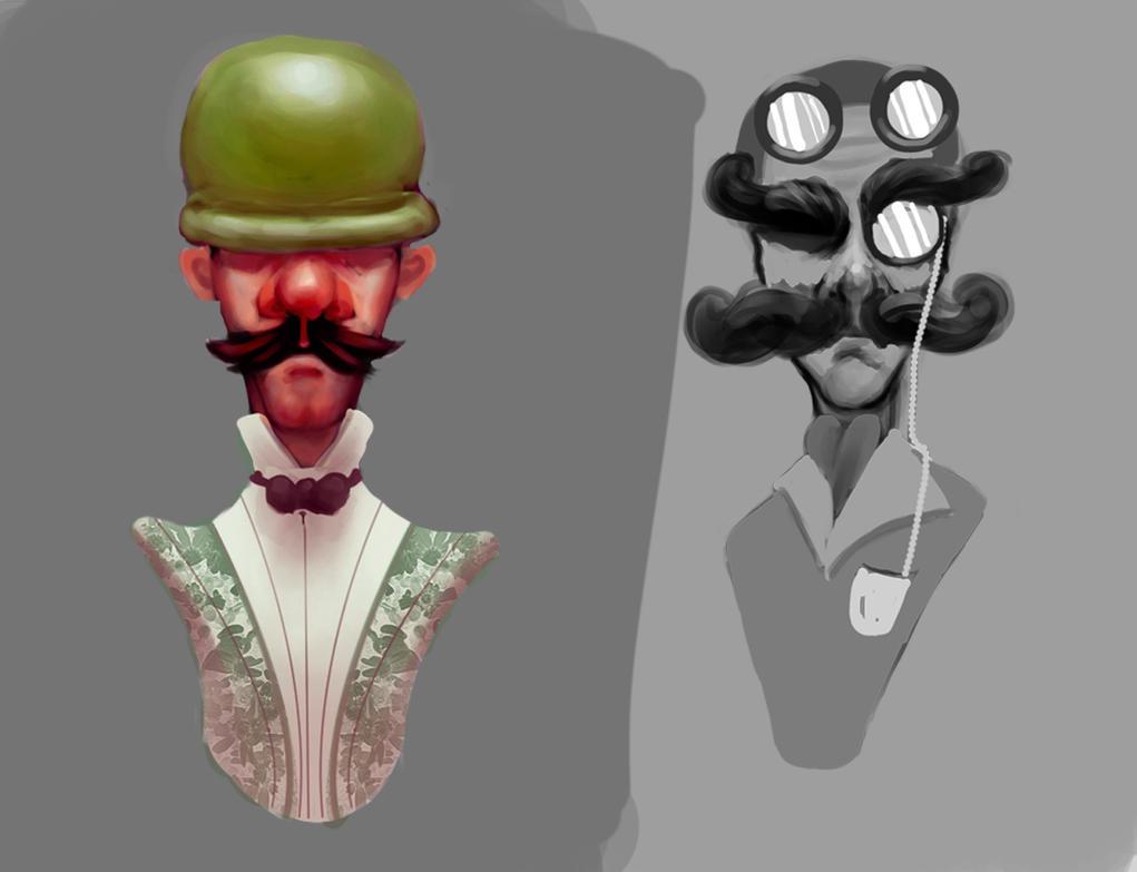 Luigi Concept....kinda by theblacklotus92