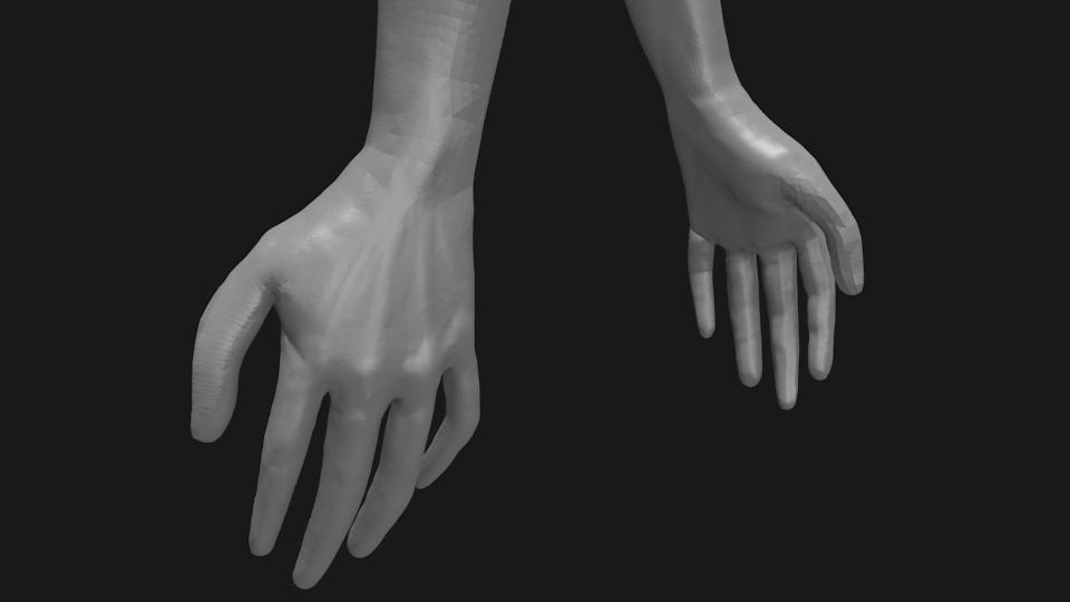 Hand Sculpt by theblacklotus92