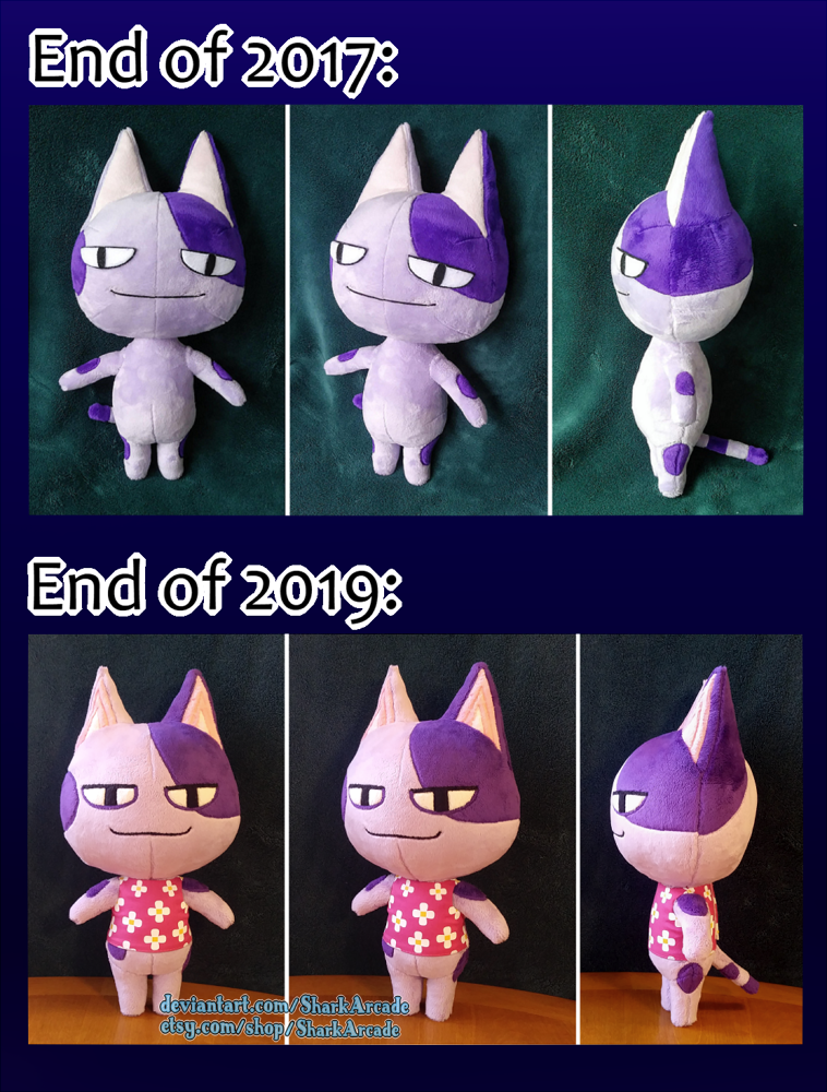 Animal Crossing Bob Plush Progression By Sharkarcade On Deviantart