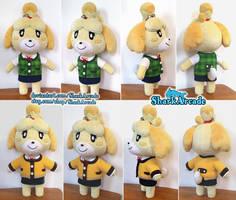 Handmade Animal Crossing Isabelle Plush