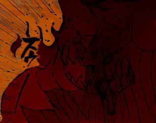 + Sasuke's Susanoo + by Dranzer-kun