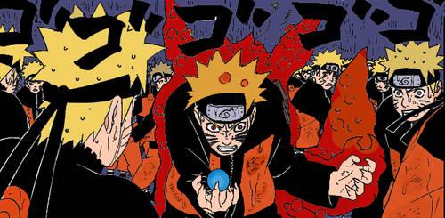 + Naruto - Kyuubi's Rage + by Dranzer-kun