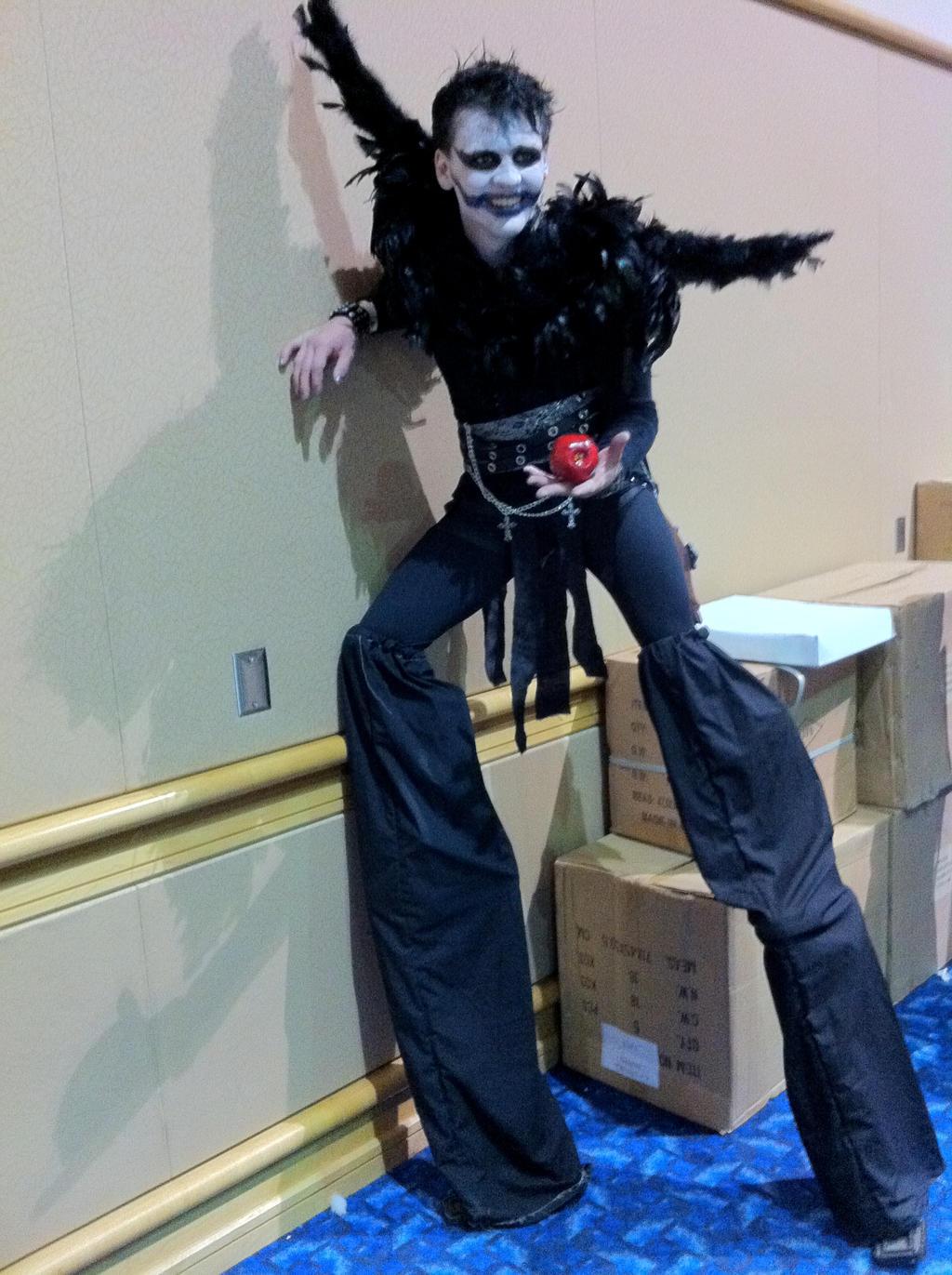 Ryuk cosplay MetroCon 2013 by KcKreations on DeviantArt