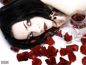 the blood..the wine..the roses by Koshka-Black