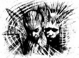 black metal witch II by Koshka-Black