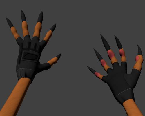 Blender3D - Alex Hands