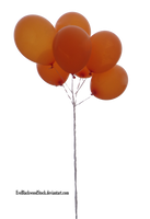 balloons PNG 3 by EveBlackwoodStock