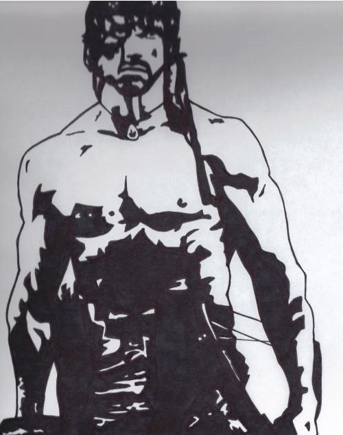 Rambo by Jarrod Alberich by CJZ