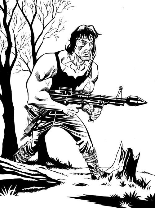 Rambo by Matt Childers by CJZ