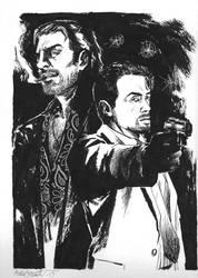 Jack Carter and Lono by CJZ