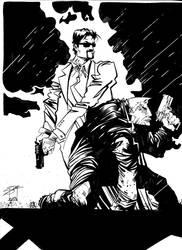 Jack Carter Goes to Sin City by Karl Slominski by CJZ