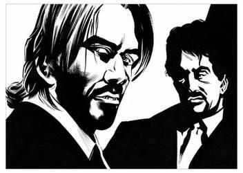 John Wick and Jack Carter by CJZ