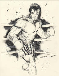 Uko Smith Takes on Rocky Balboa by CJZ