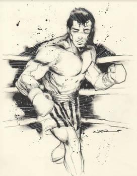 Uko Smith Takes on Rocky Balboa