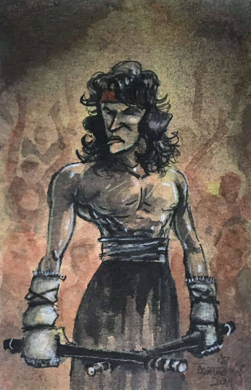 Thomas Boatwright Takes Rambo to a Stick Fight by CJZ