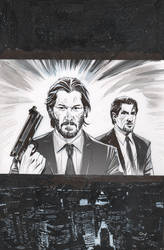 John Wick, Jack Carter and Giovanni Valletta