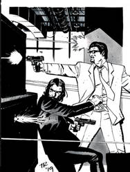 Tom Reilly Teams Jack Carter and John Wick!