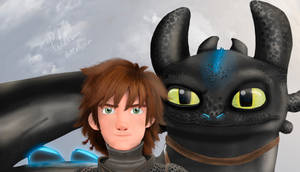 toothless and hiccup best duo S2 by BobCat3224