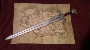TES Skyrim: Steel Sword Prop Replica Build