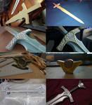 Skyrim Steel Sword WIP