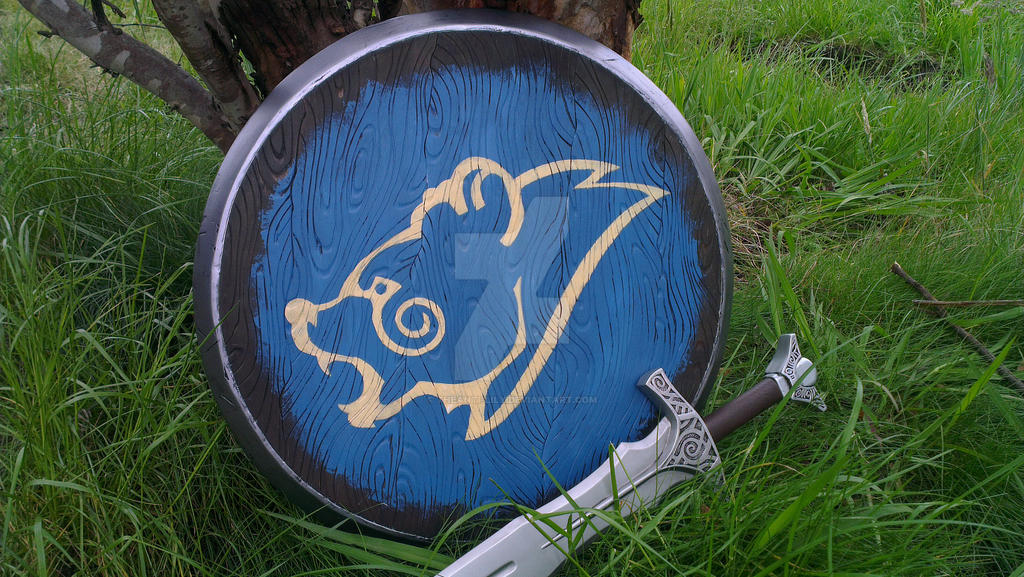 Skyrim Windhelm Guard Shield by TheAnti-Lily