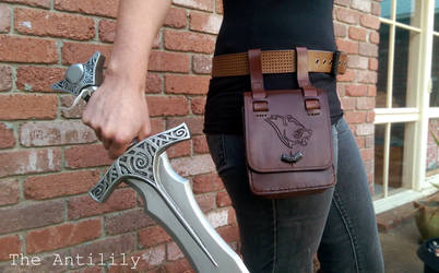 Stormcloak Belt Pouch commission